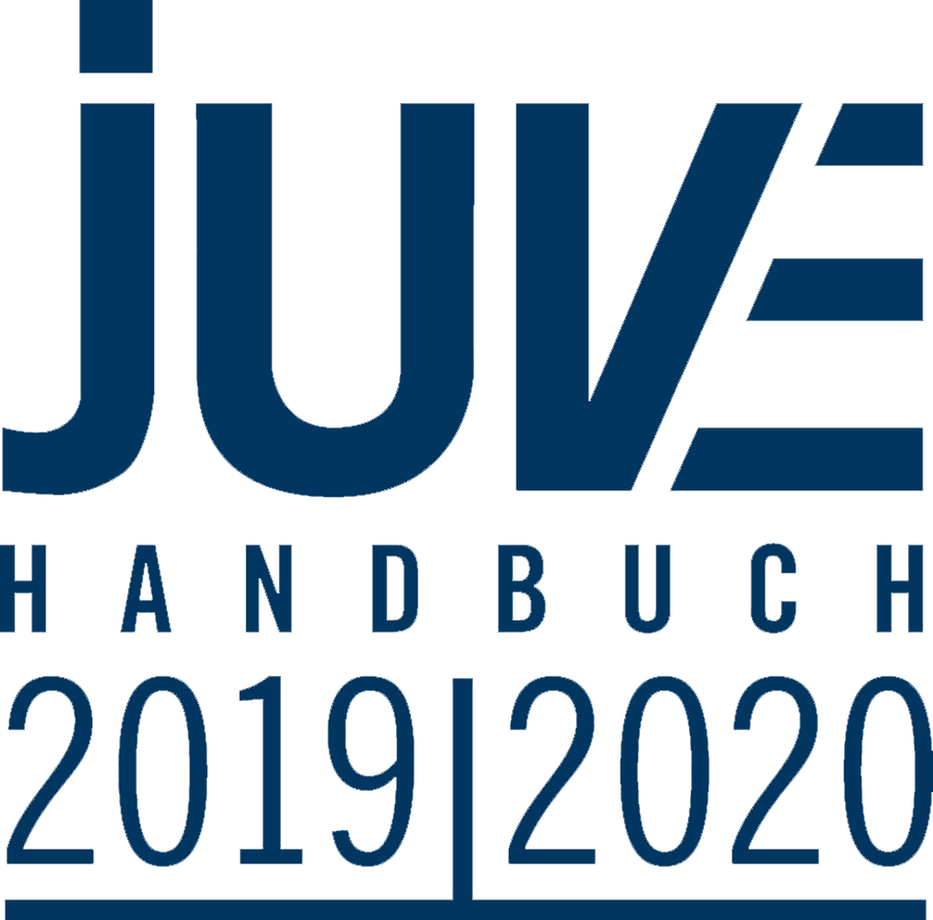 Juve Logo in blau